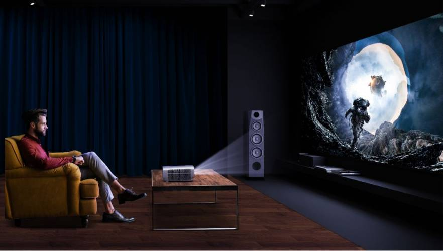 10 Best Projectors With WiFi + Bluetooth Connectivity 2021 - Go Big And Bold With Your Display This Year