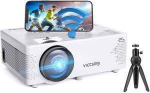 VictSing Mini Wifi Projector With Bluetooth