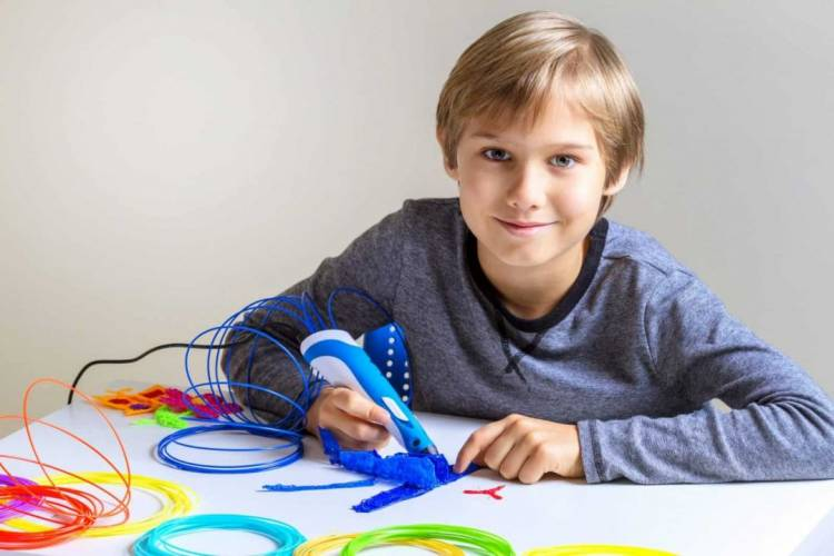 Why Is A 3D Pens Useful For A Child From 7 Years Old