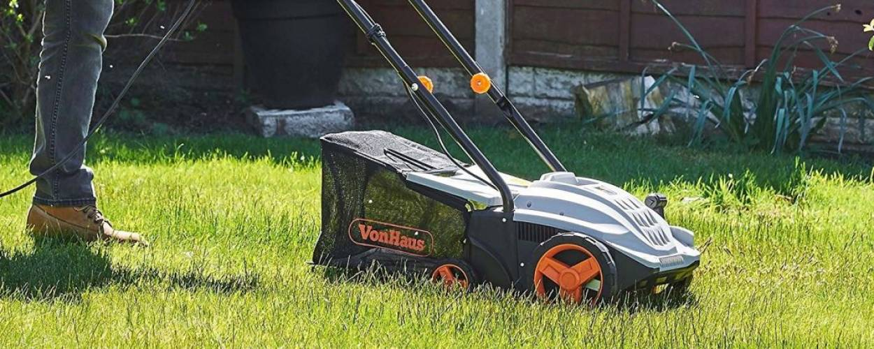 Best Lawn Scarifiers For Small Yards - Money Value & Self Propelled (Gas & Electric)