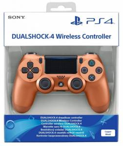 Playstation Dual Shock 4 For PS4 Metallic Copper